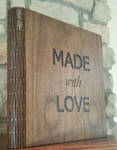 Check out this item in my Etsy shop https://www.etsy.com/listing/208005034/living-hinge-wood-customized-binder