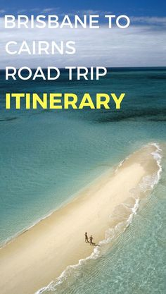 A Brisbane to Cairns road trip is one of the best you can do in Australia. This drive will take you to some of the best places in Australia such as Hervey Bay and the Whitsunday Islands. Check out my itinerary to this excellent road trip in Australia. Brisbane To Cairns, Perth, Coast Australia, Visit Australia, Queensland Australia, Western Australia, Tasmania, Australian Road Trip, Australian Continent