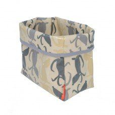 Ted Food Storage Basket in Rufus Fabric made by Poppy and Rufus Ltd in #Cheshire - £22.95