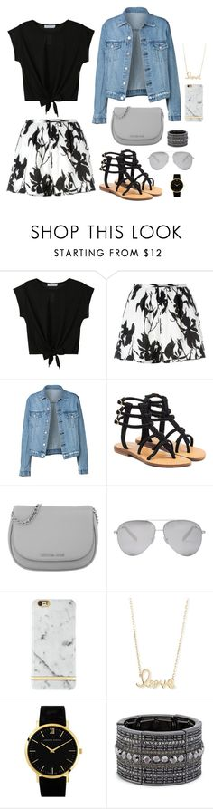 """Untitled #750"" by abigaillieb ❤ liked on Polyvore featuring Thakoon, Mystique, Michael Kors, Victoria Beckham, Sydney Evan, Larsson & Jennings and Chico's"