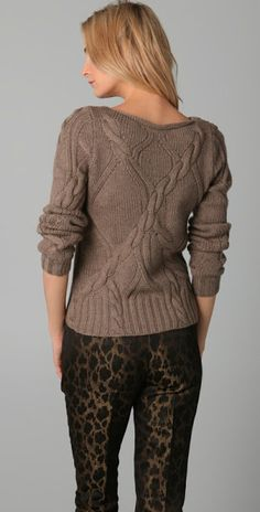 sweater from designer Elie Tahari