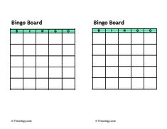 Blank Game Board Template For Teachers