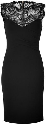 A ladylike life | www.myLusciousLife.com - Emilio Pucci Black Lace Dress