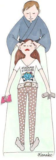 """#stopDébordée Madame stressée ne lâche jamais son agenda ... elle attend la sortie de 'J'arrête d'être débordée"""" aux Ed. Eyrolles. Fév 2014"""