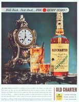 Old Charter Whiskey 1942 Ad Picture