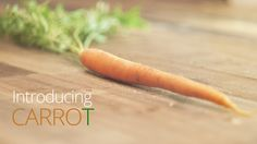 Carrot is designed with you in mind. It's a seamless experience, meticulously crafted, from beginning to end.   It's not just a vegetable. It's what a vegetable should be.   More information at www.IntroducingCarrot.com