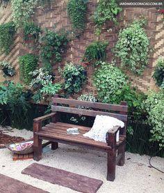 Unbelievable Useful Tips: Backyard Garden Boxes How To Make country garden ideas drought tolerant. Backyard Garden Landscape, Small Backyard Gardens, Modern Backyard, Small Gardens, Small Patio, Shade Landscaping, Garden Landscaping, Easy Garden, Home And Garden