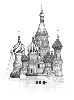 Saint Basilis Cathedral in Moscow, Red Square
