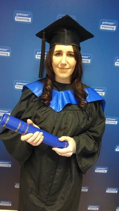 Well done to our graduate Lorraine Keane on graduating with an Administrative Assistant Diploma!