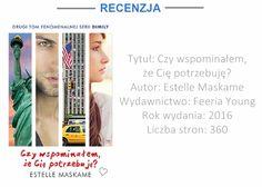 """Mozaika Literacka: BOOK TOUR: """"CZY WSPOMINAŁEM, ŻE CIĘ POTRZEBUJĘ?"""" –..."""
