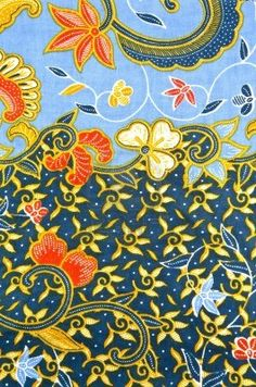 Batik in sea design