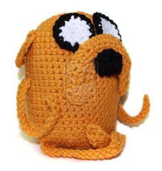 Adventure Time- Crochet Jake