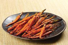 Honey-Harissa Roasted Carrots Recipe | Food & Nutrition Magazine