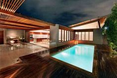 Luxury home design Queens Park Residence swimmingpool Custom