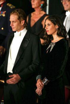 Andrea Casiraghi y su esposa, Tatiana Santo Domingo