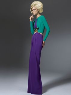 Versace Atelier - perfect mix of simplicity, elegance and color.