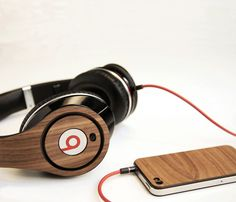 Walnut Wooden STUDIO Mod Covers