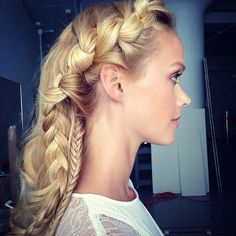 Pin for Later: 19 Instagram-Approved Braids You Should Try in 2016 Intricate Side Braid
