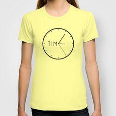 TIME T-shirt by Adil Siddiqui (addu) - $18.00