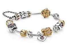 Bracelets et Colliers-Prix D'Un Bracelet Pandora-€220.00