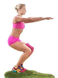 Butt & inner thigh workout
