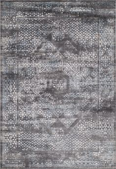 Momeni Rugs Area Rug Juliet Collection JU-02 Charcoal