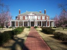 1917 Colonial Revival  Historic District  Bennettsville, South Carolina  Restored 15 room Colonial Revival home located in town on a beautifully landscaped 5 acre lot.