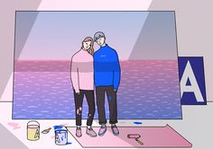 Shin Morae's illustrations