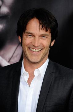 Stephen Moyer-- I'd change my name to Sookie just to hear him say it
