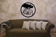 metal decor wall art interior dekoracja ścienna metalowa raggio.eu