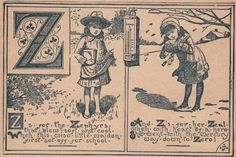 Victorian ABC's -Z - The Graphics Fairy