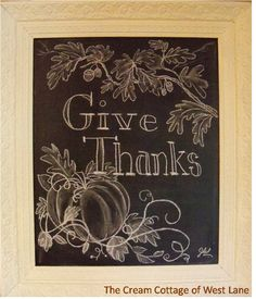 Inspiration for a Thanksgiving chalkboard. Wallies has peel-and-stick chalkboard vinyl decals in all sizes. Much easier to use than messy chalkboard paint. Fall Chalkboard Art, Thanksgiving Chalkboard, Blackboard Art, Chalkboard Writing, Chalkboard Drawings, Chalkboard Lettering, Chalkboard Designs, Chalk Drawings, Chalkboard Ideas