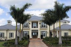 modern florida home with seamless metal roofing panels classic metal roof color