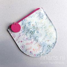 Zipper pouch Circle