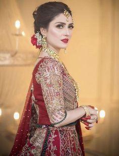 Asian Wedding Dress Pakistani, Pakistani Bridal Makeup, Beautiful Pakistani Dresses, Pakistani Formal Dresses, Wedding Dresses For Girls, Girls Dresses, Pakistani Outfits, Indian Outfits, Pakistani Fashion Casual