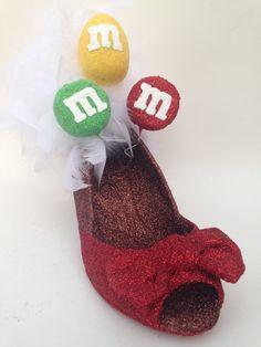 MandM's Candy Slipper   http://www.glitterbuzznola.com/2015/11/17/mms-candy-slipper/