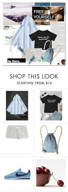 """""""Free youself"""" by undici ❤ liked on Polyvore featuring NIKE, adidas Originals and Olsen"""