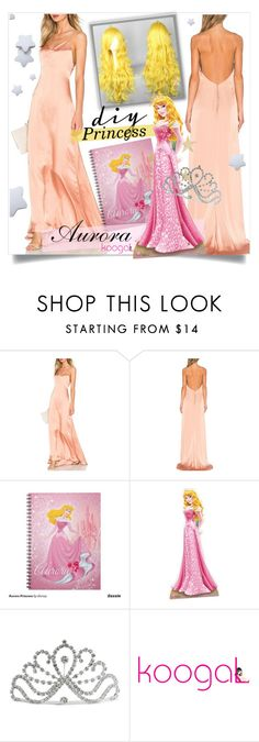 """""""Princess Aurora inspired costume"""" by koogallove ❤ liked on Polyvore"""