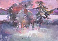 Hazel Nagl White Horse, Loch Melfort