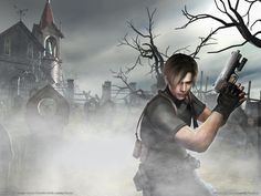 Resident Evil 4 is a survival ghastliness diversion created and distributed by Capcom. The real portion in the Resident Evil arrangement, it was initially discharged for the GameCube in Leon Kennedy, Leon Resident Evil, Xbox One, Ps4, Playstation 2, Biohazard, Videogames, 4 Wallpaper, Horror Video Games