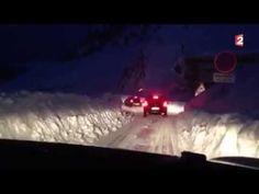La Mongie sous la neige difficile de quitter la station