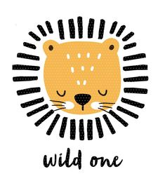 Plottervorlage Wild one Included in the file: The cute lion with the text Tier Wallpaper, Animal Wallpaper, Wall Paper Iphone, Baby Animal Drawings, Drawing Animals, Baby Diy Projects, Cute Lion, Art Graphique, Wild Ones