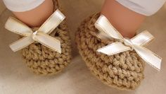 Easy Crochet Baby Booties | ... Show Crochet Baby Booties Pattern - 3 Mths Old — Crochet Hooks You