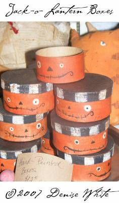 jack o lantern boxes