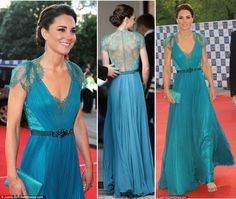 teal dress wedding - Google Search