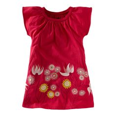 Tea Spring 2013 Anemone Garden Mini Dress in camille pink - $35