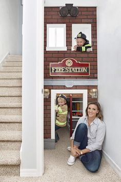 Create an Under-the-Stairs Playhouse