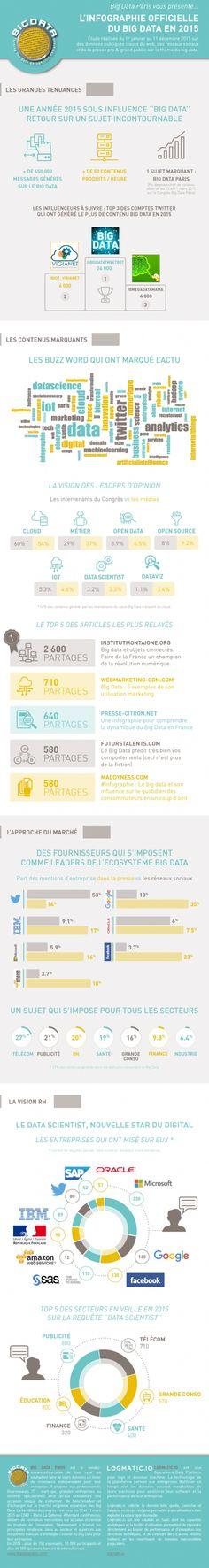 Infographie | Big Data : le bilan 2015 (en chiffres)