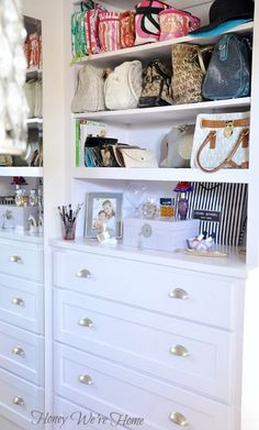 Dresser Makeover, I love this closet, it is amazing