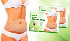 Designed to help slim and tighten belly fat, these wraps' adhesive design allows…